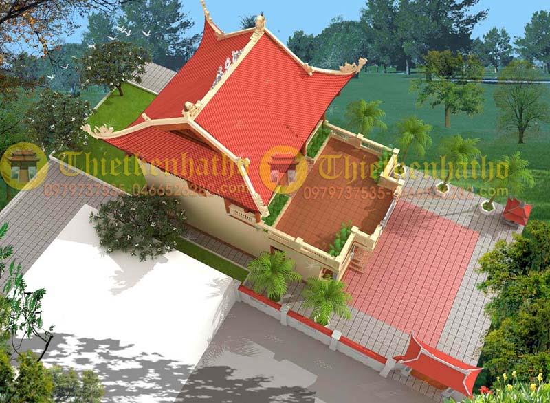 Nhà thờ cđt a Tuấn - Thái Bình