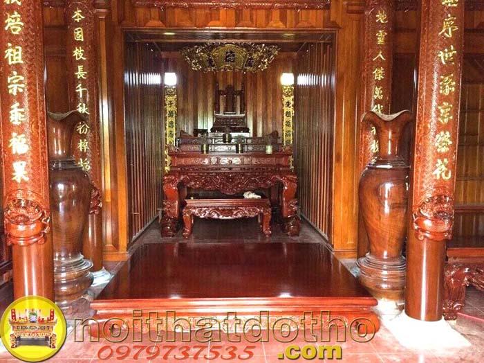 6. Bộ bàn thờ đẹp nhất