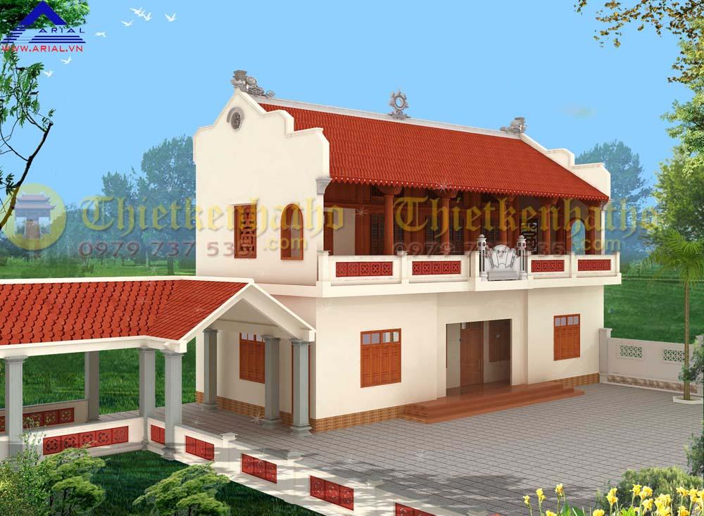 7. Nhà thờ 5 gian 2 tầng ở Gia Lộc - Hải Dương
