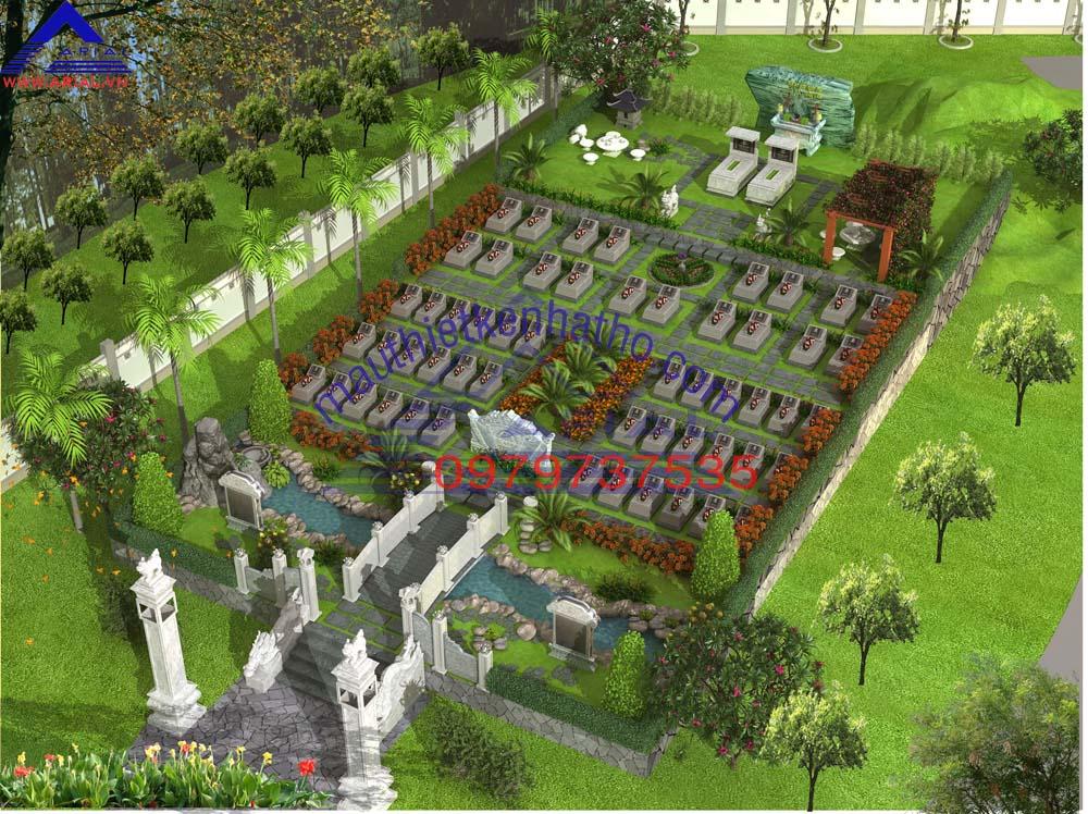 11. Khu mộ dòng họ Trần ở Vũ Thư Thái Bình