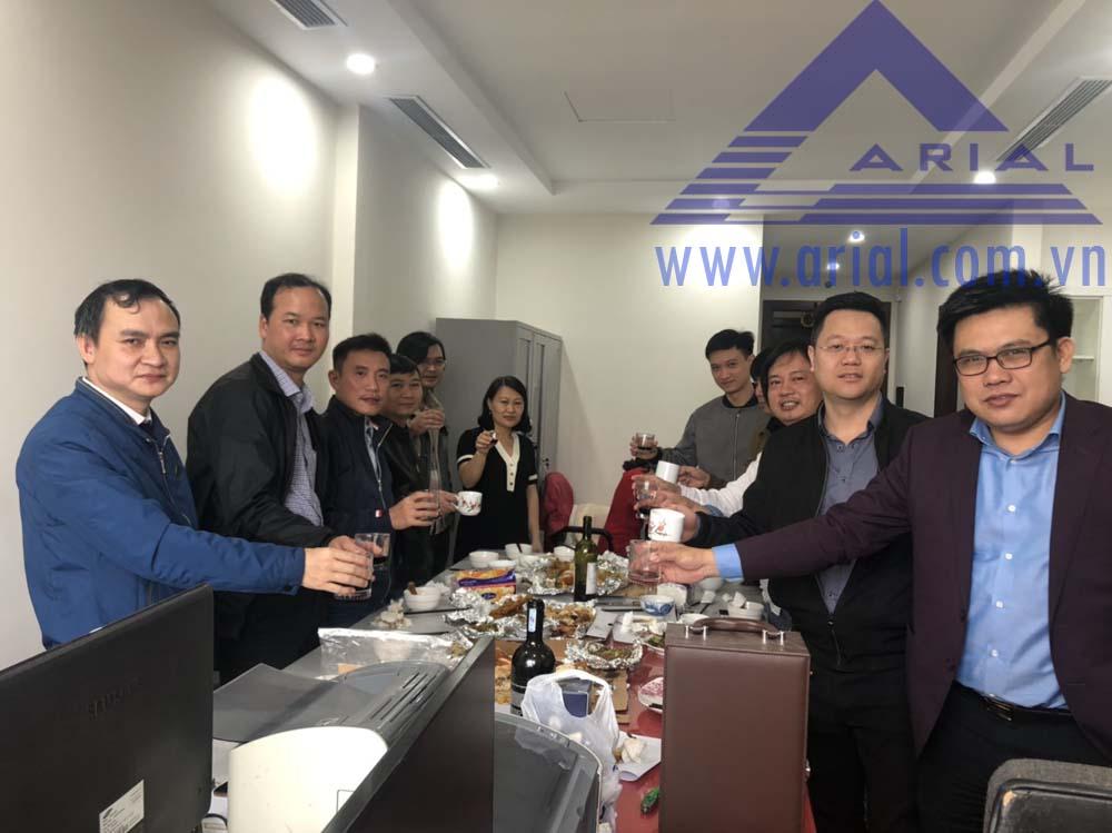 Công ty Arial khai trương văn phòng mới ở Tòa nhà Roman Plaza Tố Hữu Hà Nội