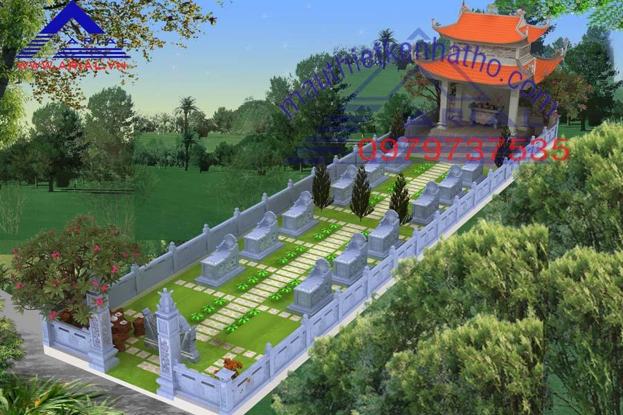 18. Khu mộ cđt a Tiến ở Mỹ Lộc Nam Định