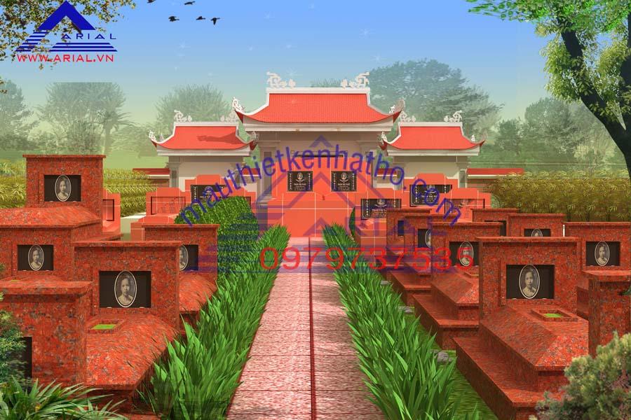 19. Khu mộ cđt a Trường ở Bắc Ninh