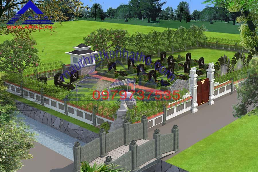 20. Khu mộ họ Nguyễn ở Chí Linh Hải Dương