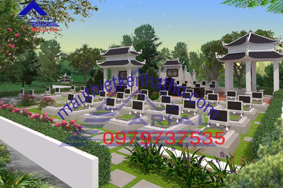 22. Khu mộ dòng họ Cao ở Lý Nhân Hà Nam