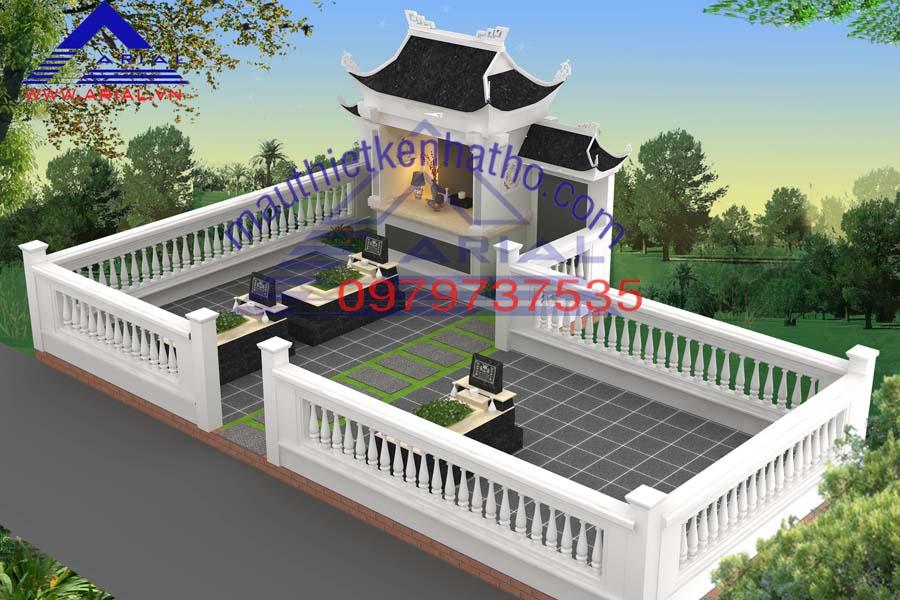 17. Khu mộ dòng dọ Vũ Duy ở Mê Linh Hà Nội