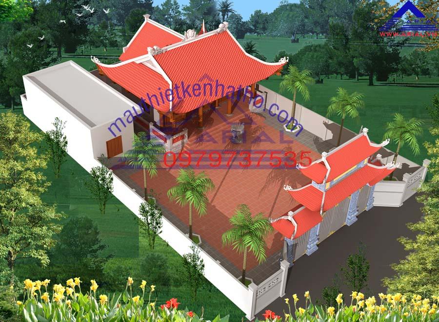 2. Nhà thờ 4 mái Hậu cung ở Ý Yên Nam Định
