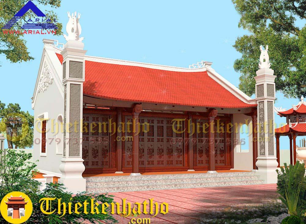 11. Nhà thờ 2 mái cđt anh Thắng ở Nam Định