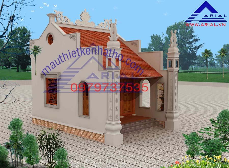 12. Nhà thờ diện tích nhỏ cđt chị Hoa ở Thanh Hóa