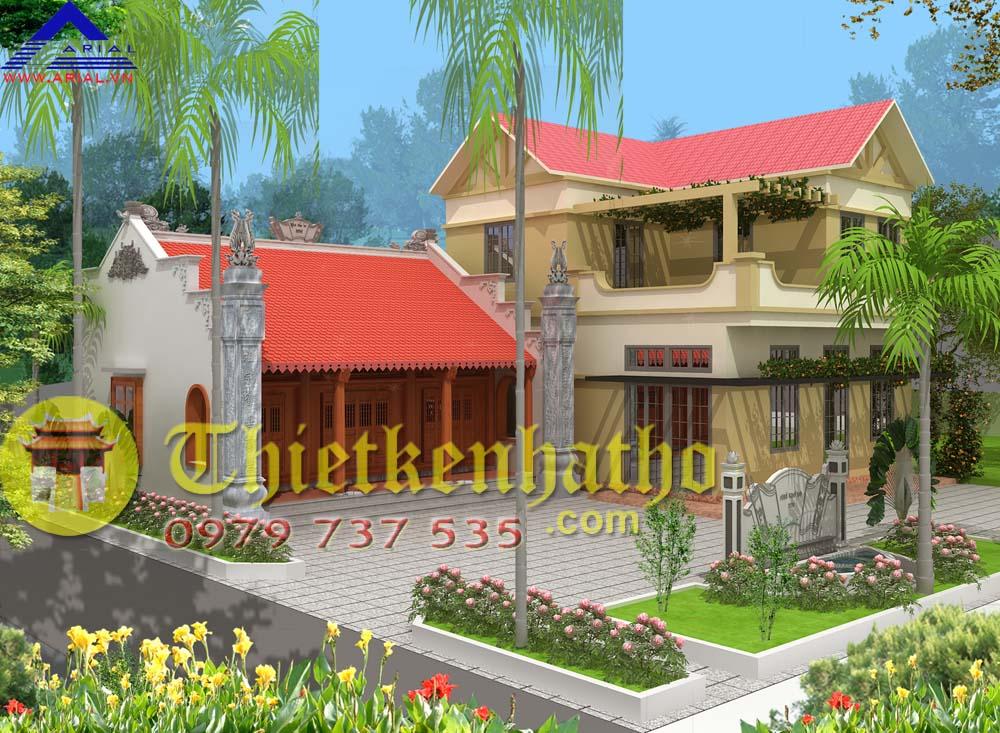 11. Nhà thờ cđt anh Chính ở Nam Định