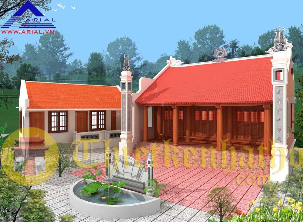 7. Nhà thờ cđt anh Huy ở Bắc Giang