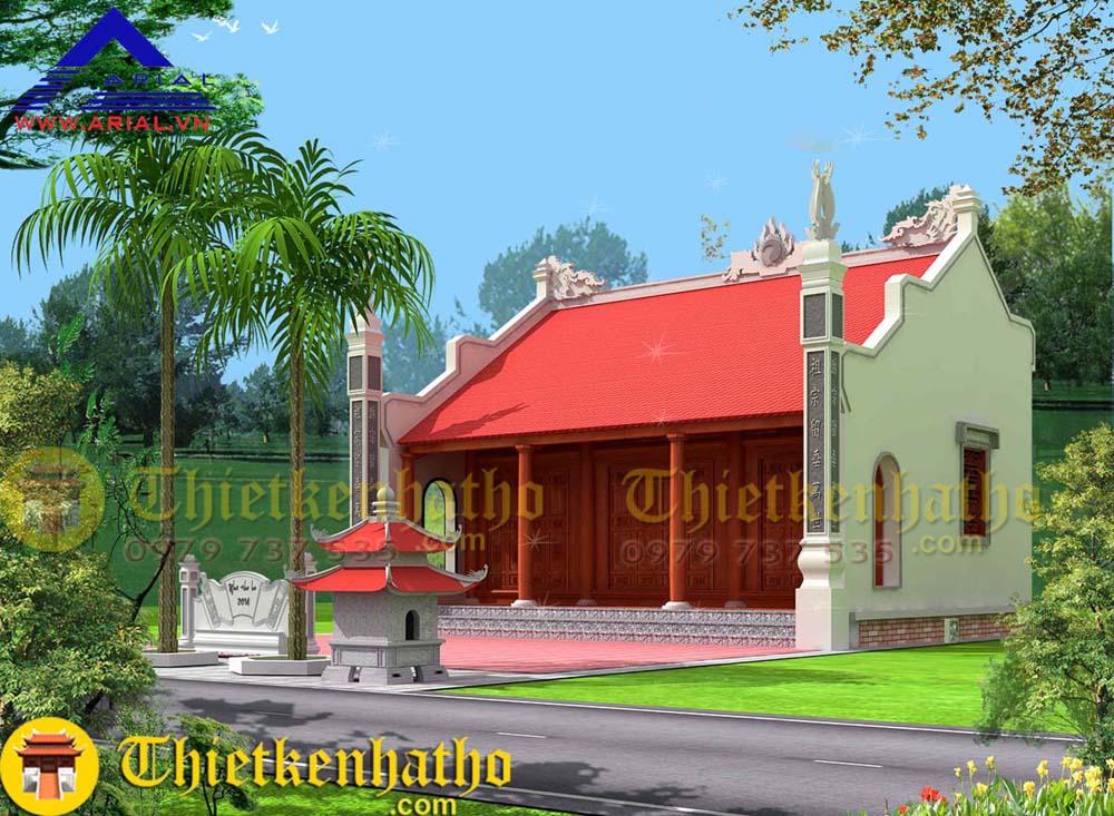 12. Nhà thờ cđt anh Phương ở Tam Điệp Ninh Bình