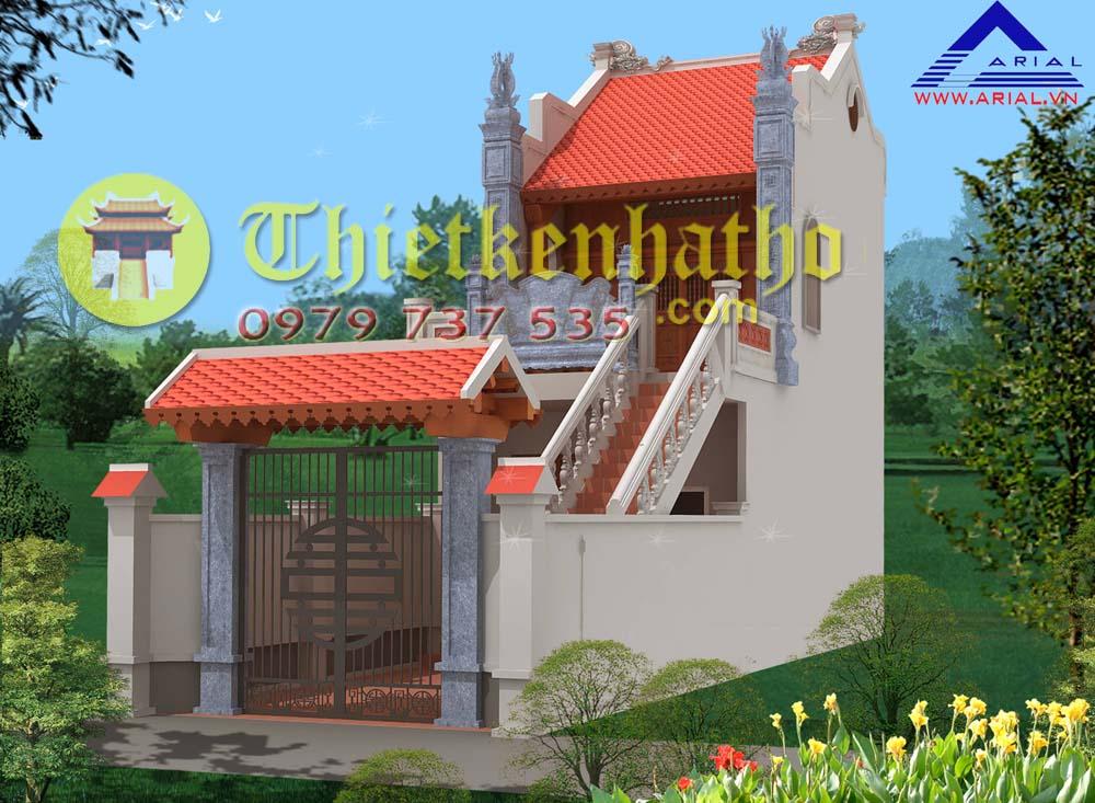 9. Nhà thờ 2 tầng ở Văn Bình Thường Tín Hà Nội
