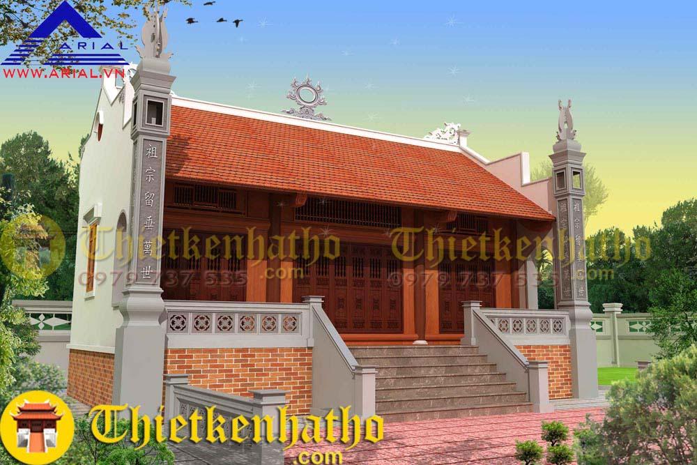 7. Nhà thờ cđt anh Quân ở Thái Bình