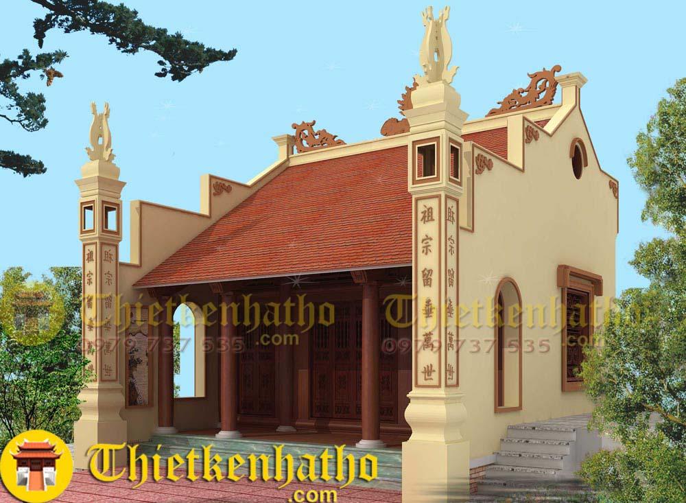 10. Nhà thờ cđt anh Bảng ở Hà Nam