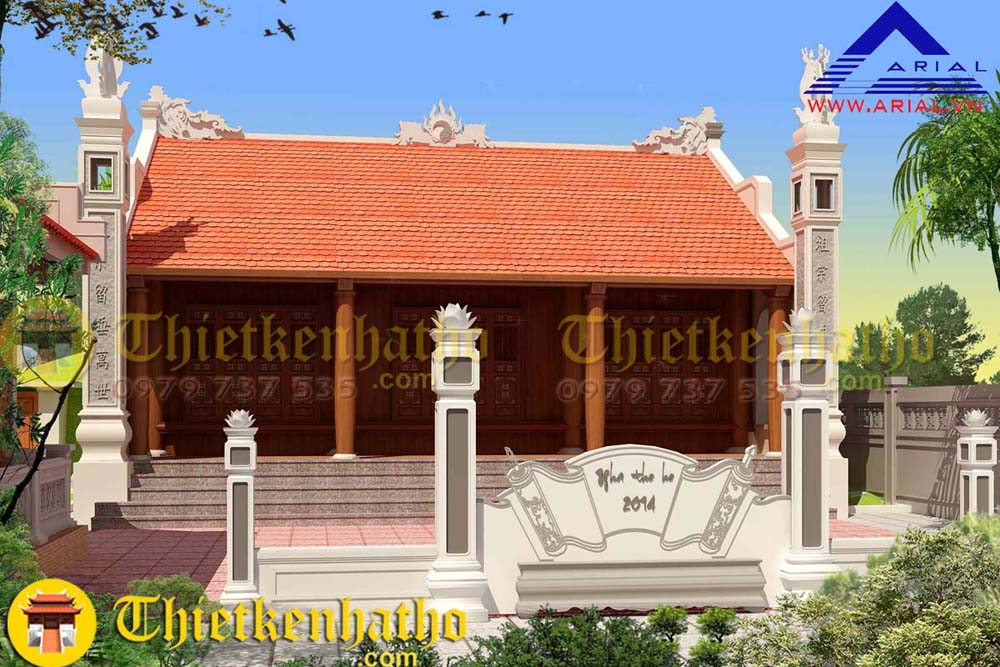 10. Nhà thờ cđt anh Giang ở Hưng Yên