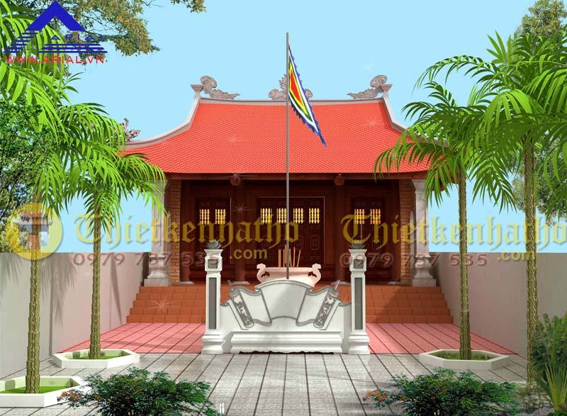 11. Nhà thờ 4 mái diện tích nhỏ cđt a Bắc ở Nghệ An