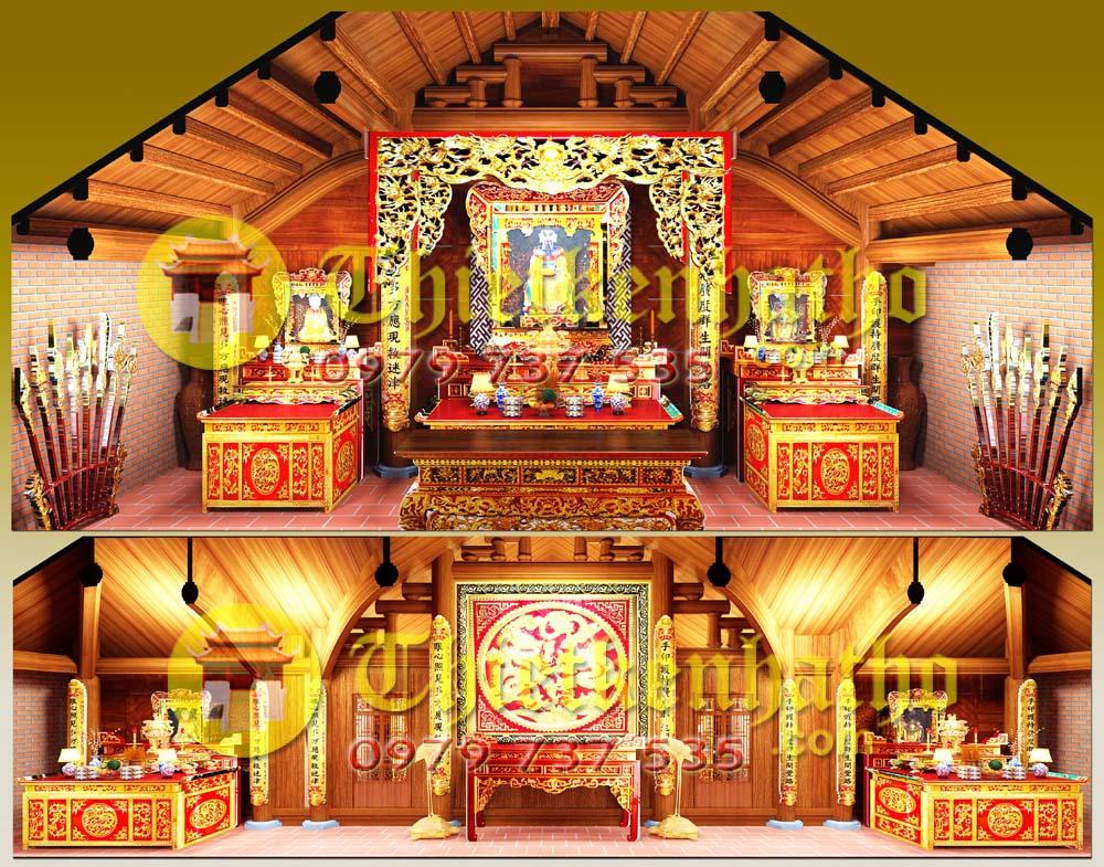 3. Nội thất đồ thờ ở Hà Giang