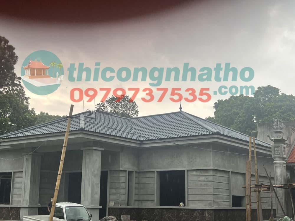 2. Nhà ở 1 tầng mái thái ở Văn Lâm Hưng Yên