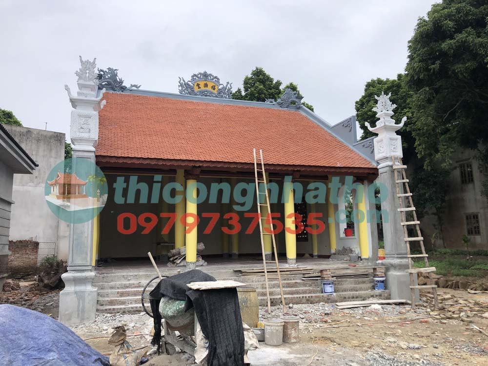 3. Nhà thờ 2 mái 3 gian ở Hưng Yên