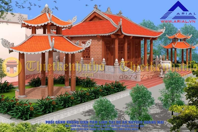 9. Không gian tâm linh Hateco Hoàng Mai, Yên Sở Hà Nội