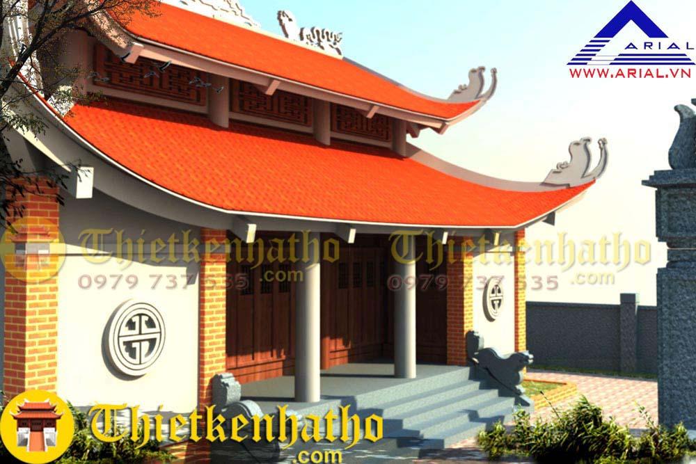 8. Nhà thờ 8 mái Hậu cung chữ Đinh cđt a Hòa ở Thanh Hóa