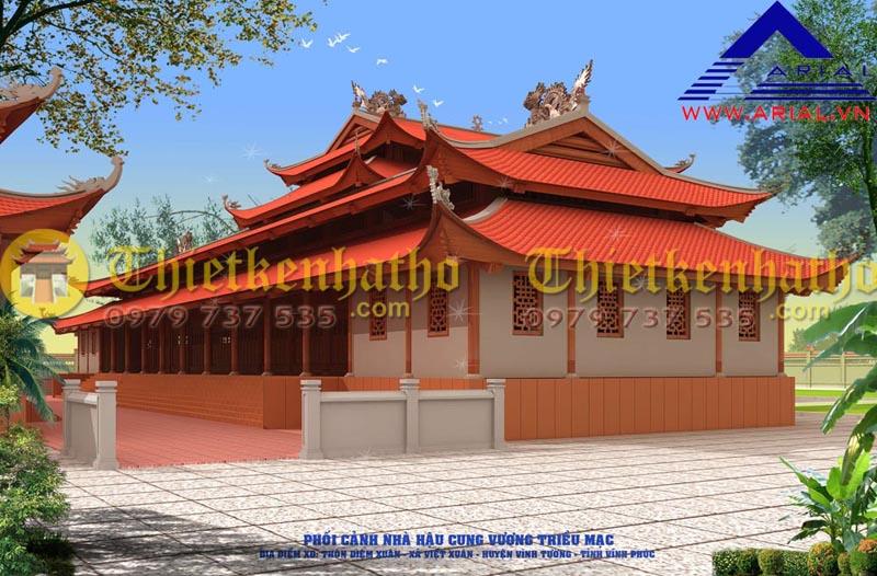 11. Đền thờ Vương Triều Mạc ở Vĩnh Phúc